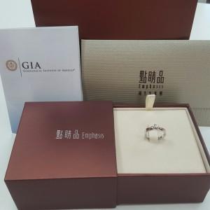 GIA證書 鑽石 點睛品 周生生