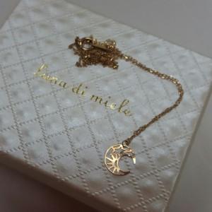 Luna-di-miele月亮K金項鍊
