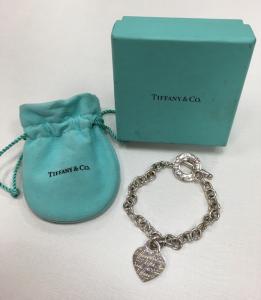 Tiffany&co. Return to Tiffany純銀手鍊