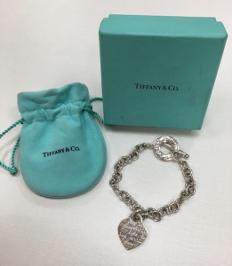 Tiffany&co. Return to Tiffany純銀手鍊