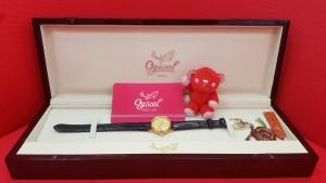 名牌手錶 Ogival 愛其華 18K金尊榮女錶 回收