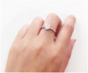 戒指配戴!每個手指的特殊含義!