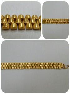 總統帶黃金手鍊