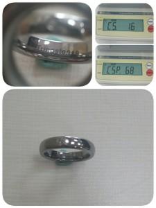 鎢(Tungsten)做成的戒指