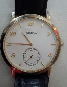 SEIKO石英男錶