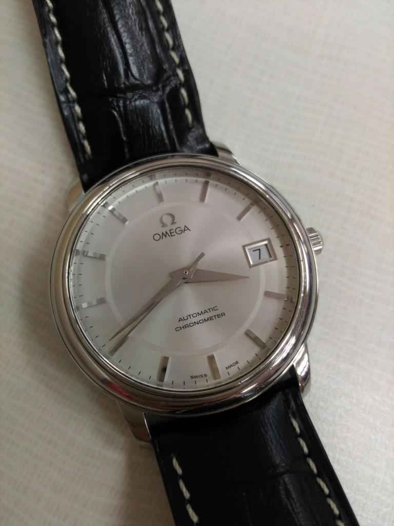 OMEGA皮帶錶