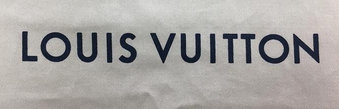 LOUIS VUITTONZ防塵袋進化史2