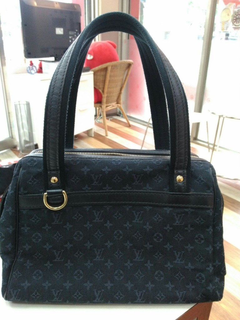 LOUIS VUITTON JOSEPHINE PM單寧緹花醫生包