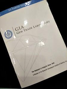 GIA證書雷射編號