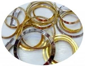 貴金屬--手錶零件