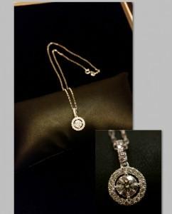 鑽石項鍊51分收購