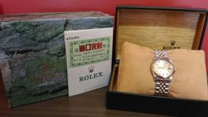 0801勞力士中性半金錶收購