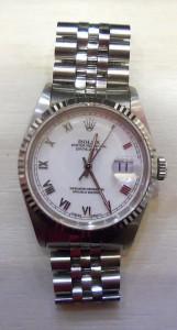 勞力士不鏽鋼手錶