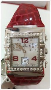 歐米茄女用石英計時錶